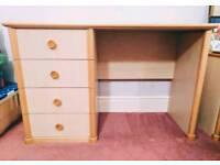 Ellis Furniture Pine Dressing Table Desk