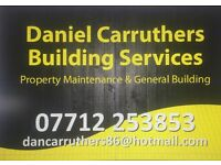 Daniel Carruthers building and property maintenance services