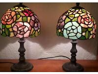 Tiffany style lamps - pair