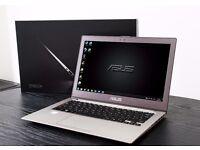 "Asus Zenbook 13.3"" Full HD Intel Core i5 @ 1.7Ghz (2.7Ghz Turbo) 4GB DDR3 500GB HDD Win 7 x64"