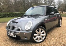 MINI Cooper S *Watch Video* New MOT, Service History, Warranty, Pan Roof, Gloss Black Roof & Mirrors