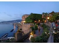 Holiday to sorrento Italy, including flights and accommodation