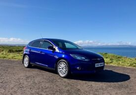 2014 Focus 1.6 TDCi Zetec 5 Door, 1 owner **upgraded alloys, f/s/h, sensors**