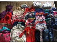 Winter girls clothes bundle (2-3 years)