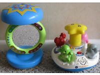 Toys for Young Children, Baby toys and Snuggle cloths 25p - £4 each