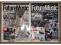 FUTURE MUSIC MAGAZINES AND CDs (55 in Total)