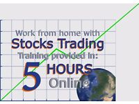 *Free Class* Learn to work from home earning money by trading stocks.