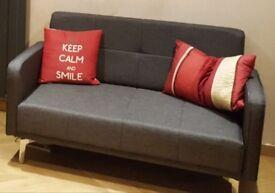 Hygena 2 seater sofa