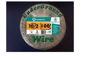 10-2 WithGround Wire 100 Feet.. UF. (UnderGround-Direct Burial)