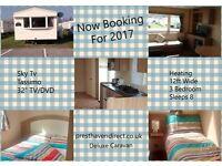 Prest Haven Sands Beach Resort Sleeps 8 Deluxe Plus Caravan Hire Presthaven