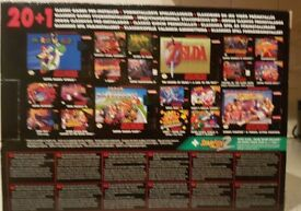 Snes entetainment system new 21 games