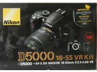 Nikon 5000 18-55 VR Kit SLR