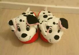 Excellent CONDITION 101 DALMATION STOMPEEZ, MEDIUM SIZE 13-2. Never worn.