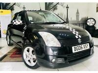 ★🔥CHEAP RUNNER🔥★2006 SUZUKI SWIFT VVTS GLX 1.5 PETROL★FULL SERV HIST★MOT APR 2019 #KWIKIAUTOS