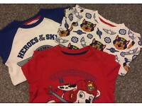 3 x Paw Patrol T-Shirts