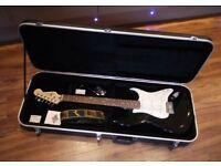 Superb Saphira SP1000 Electric Guitar in Flight Case - SUPERB CONDITION - MINT.
