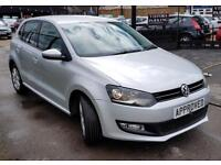 VOLKSWAGEN POLO 1.2 MATCH 5d 59 BHP Apply for finance Online today! (silver) 2013