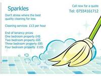 Sparkles Domestic cleaning services