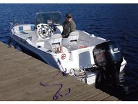 Sports / Fishing / Day Boat. Olympic 500CCF and 90hp Mercury