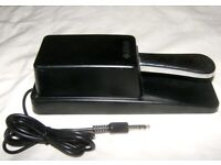 Yamaha FC3 Sustain Pedal for Piano Keyboard. Good for Korg , Roland , Kurzweil , Casio / Used !