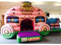 PRINCESS CARRIAGE BOUNCY CASTLE/ CANDY FLOSS/ SLUSH PUPPIES & much more...