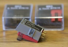 AUDIO TECHNICA AT13EA CARTRIDGE AND 2 SPARE NEW ATN13EA STYLUS