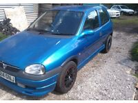 vauxhall corsa b 1.6 sport irmscher breaking for spare parts
