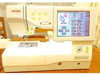 Janome 11000 Memory Craft Sewing Machine. Sewing, Quilting, & Embroidery