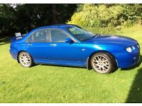 MG ZT+ 4 door super saloon 2.5V6 Quad cam, half leather, fast car with long MOT, FSH, any trial