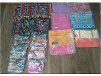 Selection of womans handbags, all new, handbag clearance. Ladies bag sale. Job lot