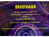 Broo'Haha @ The Crypt, Bedfords, Norwich. 23rd June