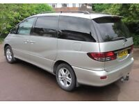 Toyota Previa D4D 2.0 Diesel 7 Seater Genuine 120,100 Miles And Full Toyota Dealer Service History