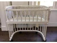 Babybay original bedside crib with lots of accessories