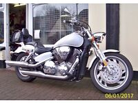 2007 Honda VTX1300 C Excellent Condition Rare Pearl White With Extras