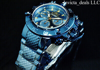 Invicta 50mm Subaqua Noma III BLUE LABEL Swiss Chronograph Stainless Steel Watch