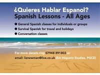 Spanish Lessons - All Ages