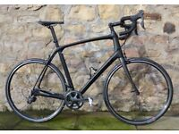 COST £3850. 2017 TREK DOMANE SLR 6 CARBON ROAD BIKE. ADJUSTABLE ISO-SPEED. RARE 62CM SIZE. MINT