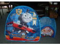 4 THOMAS THE TANK ENGINE PLAY TENTS - INDOORS OR OUTDOORS