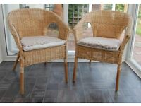 2 garden room chairs