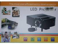 Gold LCD projector