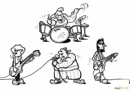JOIN MY SLUNK BAND (bassists,guitarists,drummers,sax)