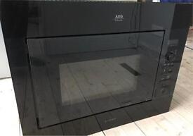AEG Intergrated Microwave 900W
