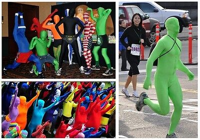 DH Zentai Suit Men's Spandex Lycra Halloween Full Body Costume ()