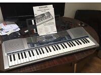 Bontempl PM694 61 key electronic keyboard midi VGC