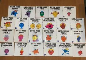 Little miss mr men book bundle