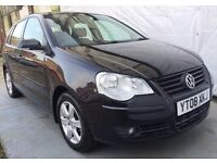2008 Reg Volkswagen Polo 1.2 Match 60 5dr/Full service history 9 stamps/MOT 19/01/18,HPI CLEAR