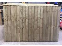 🌻Pressure Treated Vertical Board Wooden Garden Fence Panels