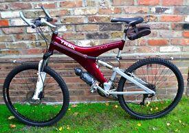 Iconic Mens Trek Y22 full suspension Carbon Framed Mountain Bike