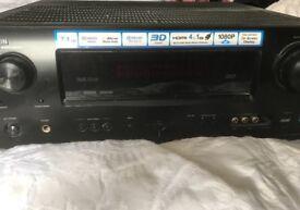 Denon Sound Receiver plus Monitor Audio house surround system