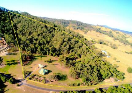 40 ACRES, A DAM, PRIVATE 10 ACRES CLEARED. OFFERS OVER $799,000